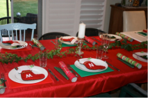 xmas 2011 table